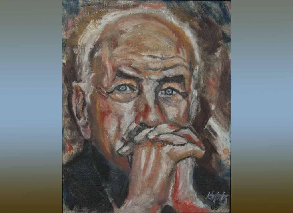 Der Künstler Armin Mueller-Stahl
